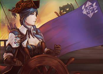 ALYS PROPAGANDA : La grande pirate by acetea-san