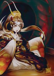 Tea bath by acetea-san