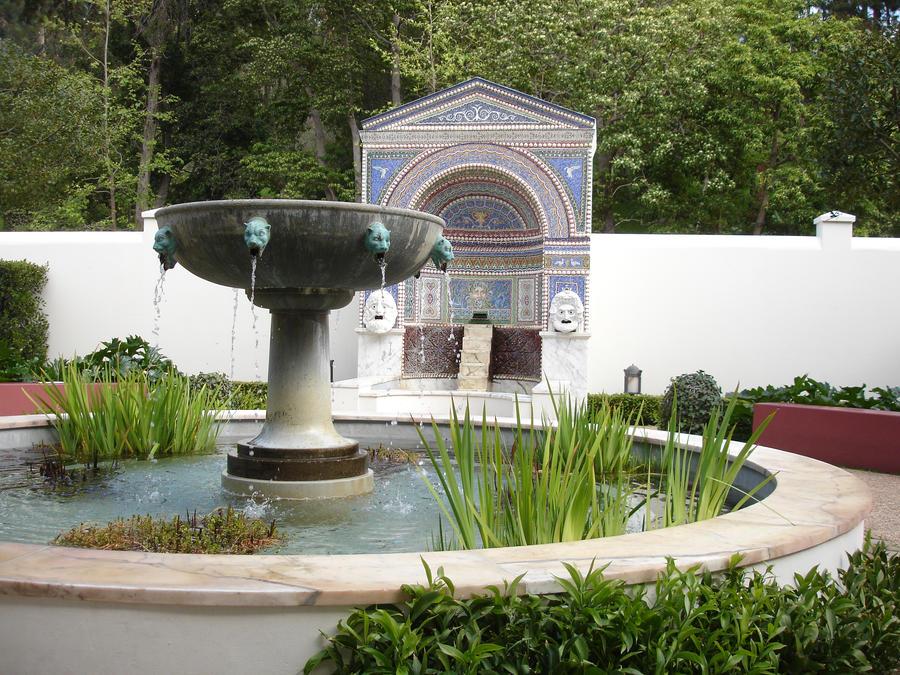Getty Villa East Garden By Imthenats On Deviantart