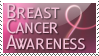 Breast Cancer Awareness Stamp by taterbug