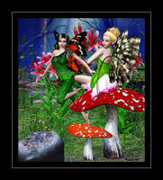 Lily Faeries by taterbug
