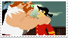 Jack and the Scotsman Stamp by Nikki1975