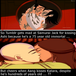 So people are okay with Kataang but not Jashi