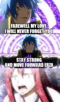 Jellal sacrifices himself for Erza