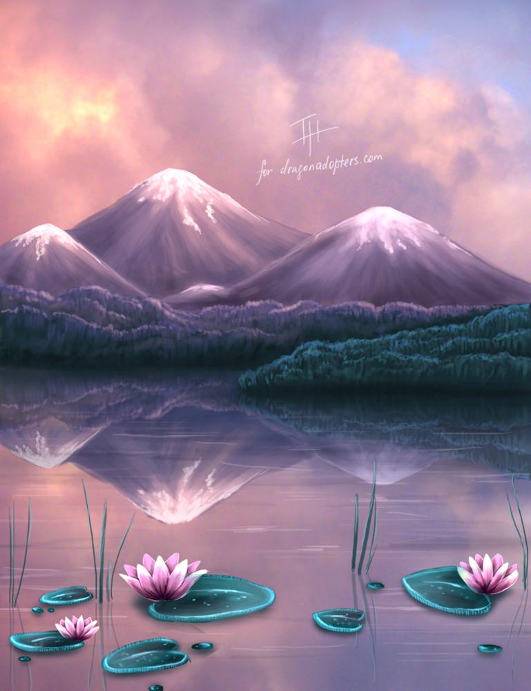 Dream Lake By Shiningsilverskies On Deviantart