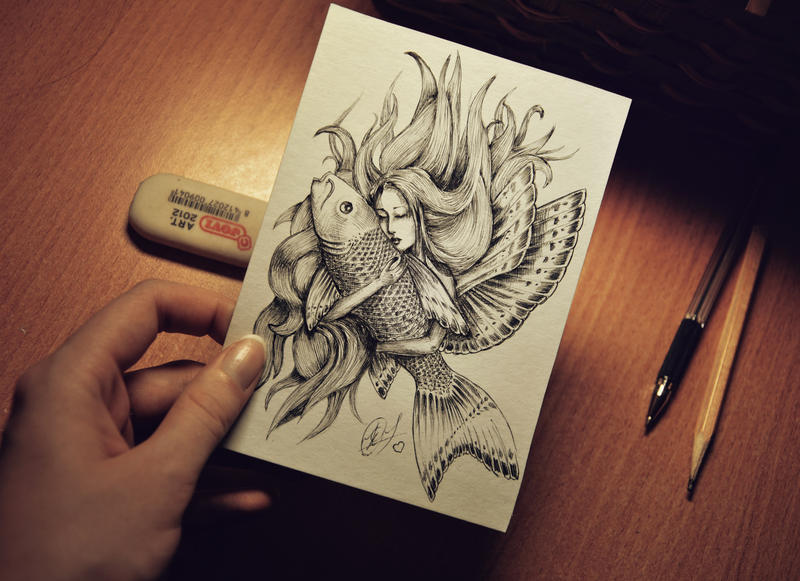 The best fish in the world by shiningsilverskies on deviantart for Coolest fish in the world