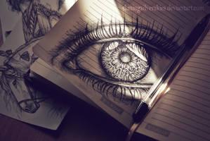 sketchbook by shiningsilverskies