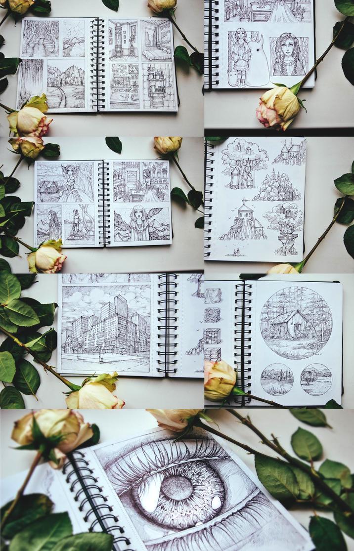 Drawings by shiningsilverskies