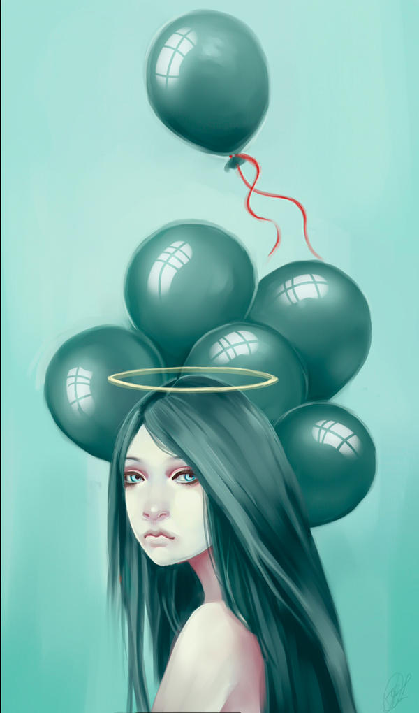 Sadness by shiningsilverskies
