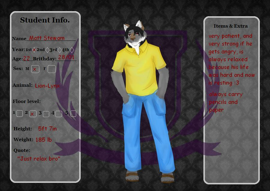 Student App For Furry Academy by leonmathews