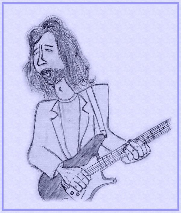 Eric Clapton by Graffek24