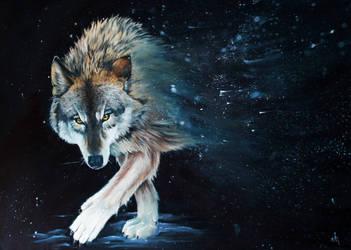 Wolf story by LeafArtAnna