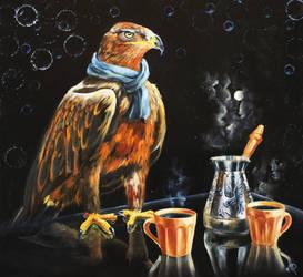 Coffee strangth by LeafArtAnna