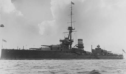 HMS Orion by AsariGoddess