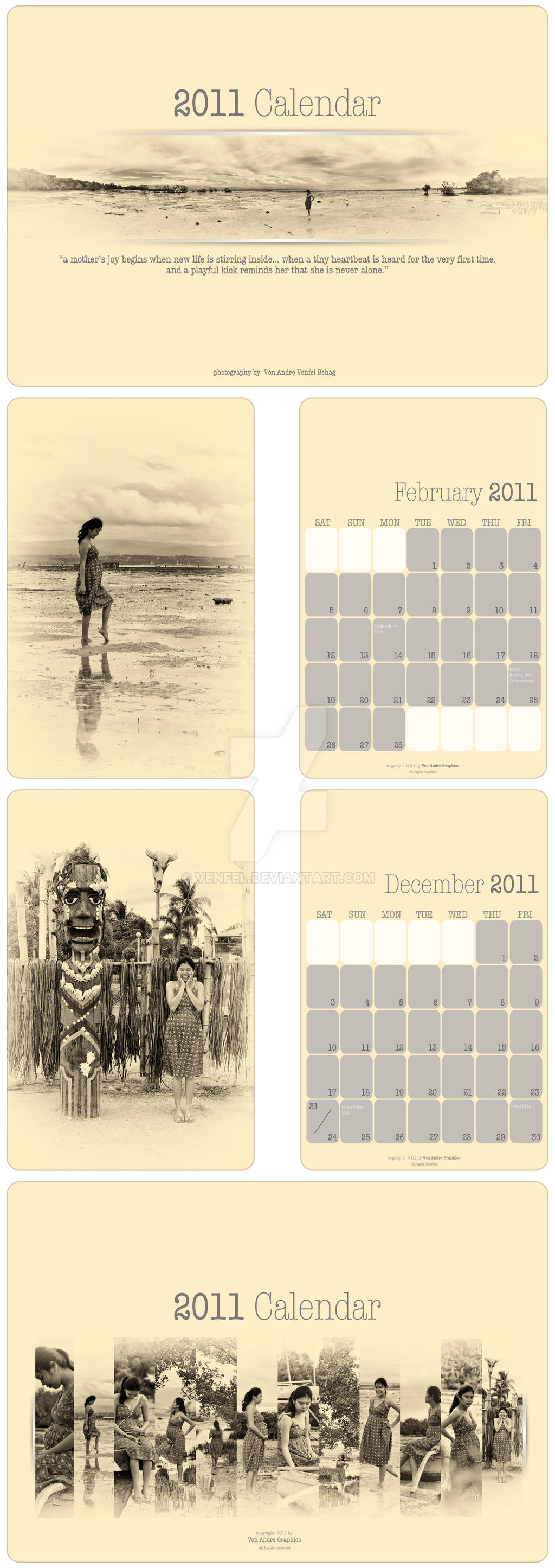 2011 calendar by venfel on deviantart