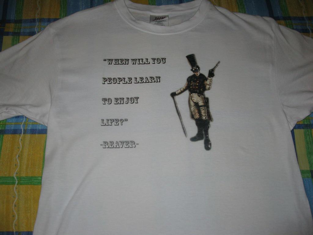 Reaver t-shirt by vaquera1234