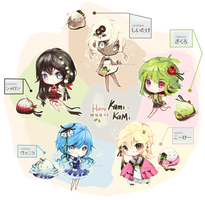 [CLOSED) KamiKaMi 9-13 ADOPTS AUCTION by ReversedClock