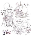 CLOSED   Chibi Food YCH 14-15 THANK YOU!