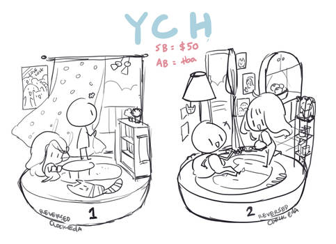 CLOSED |  ROOM YCH AUCTION ( AB added! )