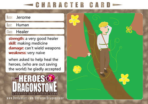 Jerome character template