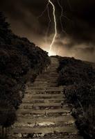 Arthur's Stormy Steps by kharashov