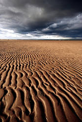 Ridges on the beach by kharashov