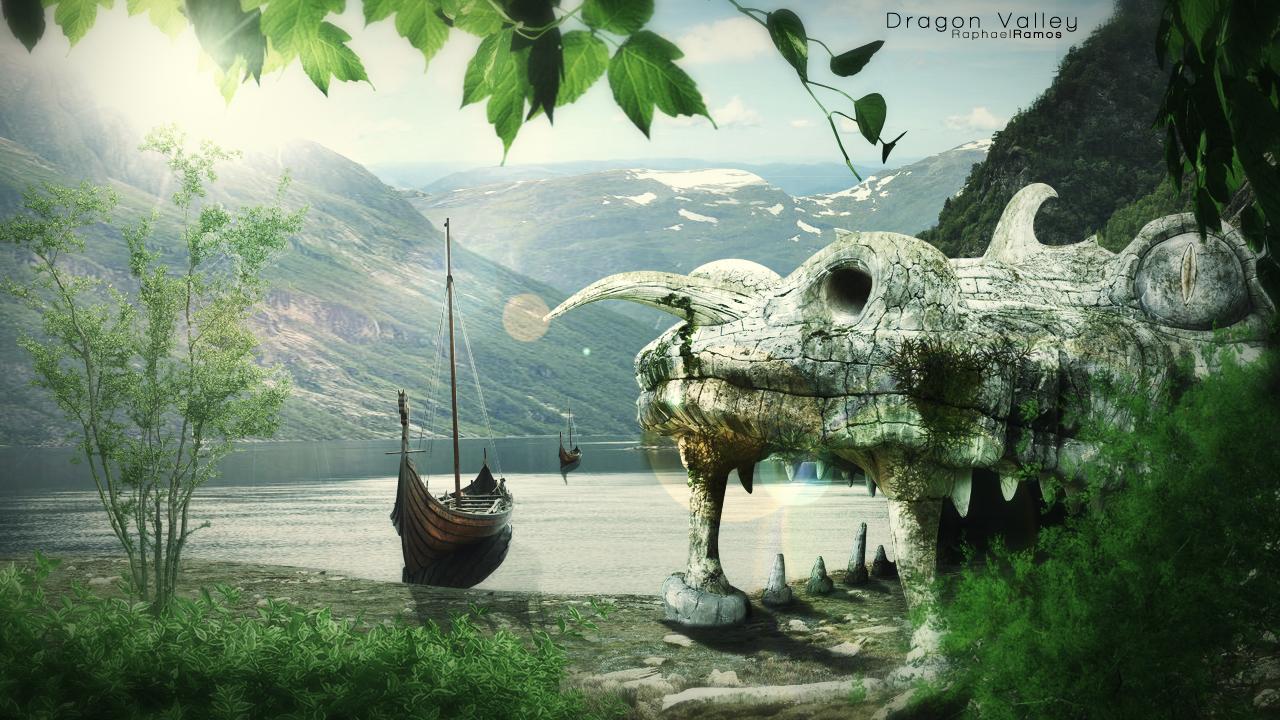 Dragon Valley by RaphaellR