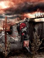 Code Geass. Kallen Kozuki. This is war by SarinaAmazon