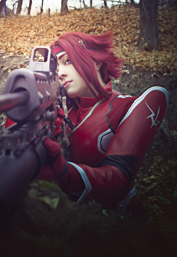 Code Geass. Kallen Kozuki. In the battle by SarinaAmazon