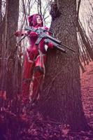 Code Geass. Kallen Kozuki. Red Knight. by SarinaAmazon