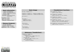 Arduino TimedAction Library Cheat Sheet