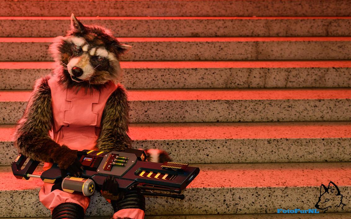 Rocket Raccoon Wallpaper By FotoFurNL
