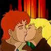 The Kiss by BlackRabbitArtisan