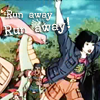 Run away by BlackRabbitArtisan