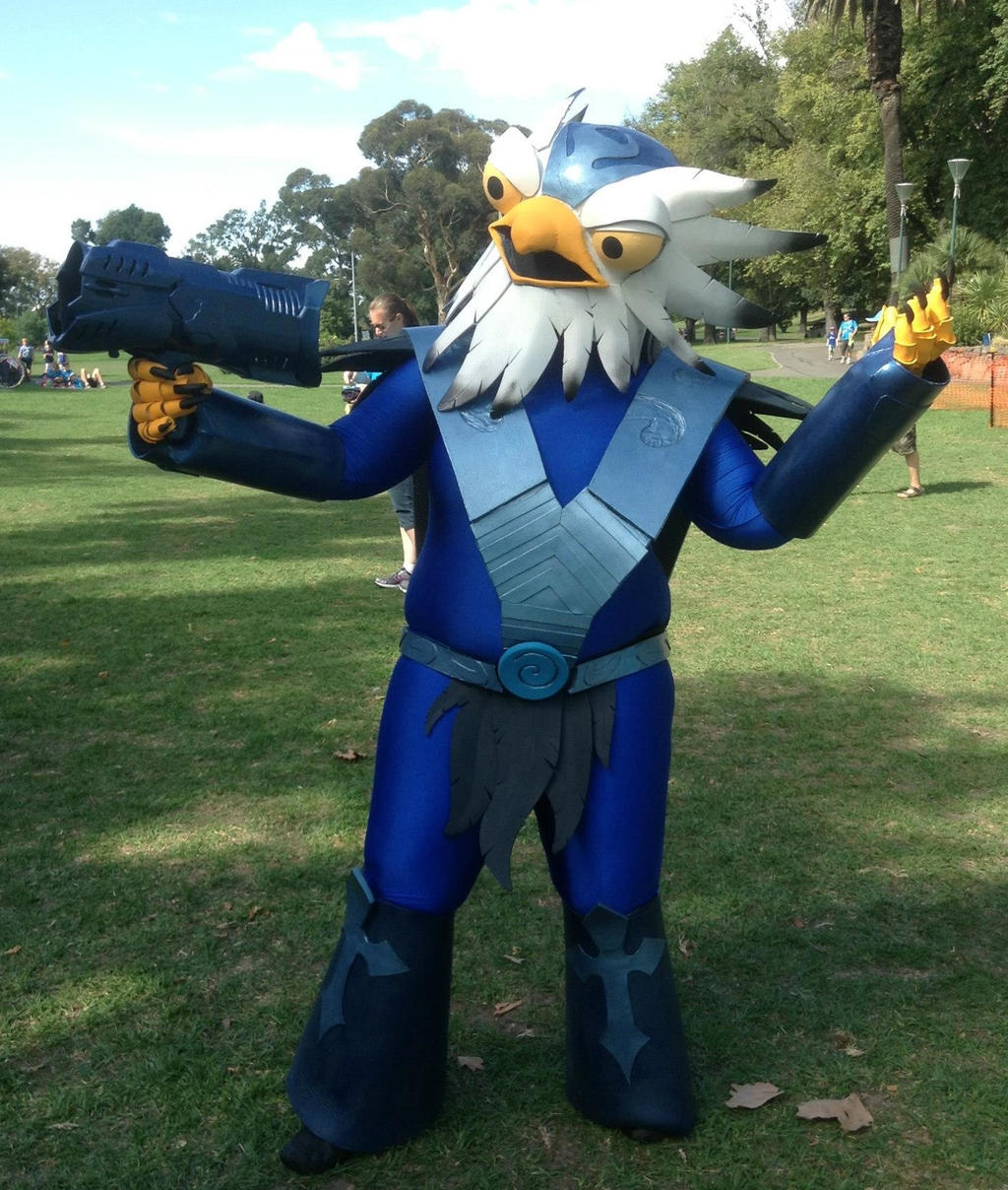 Jet Vac Cosplay by MudgetMakes