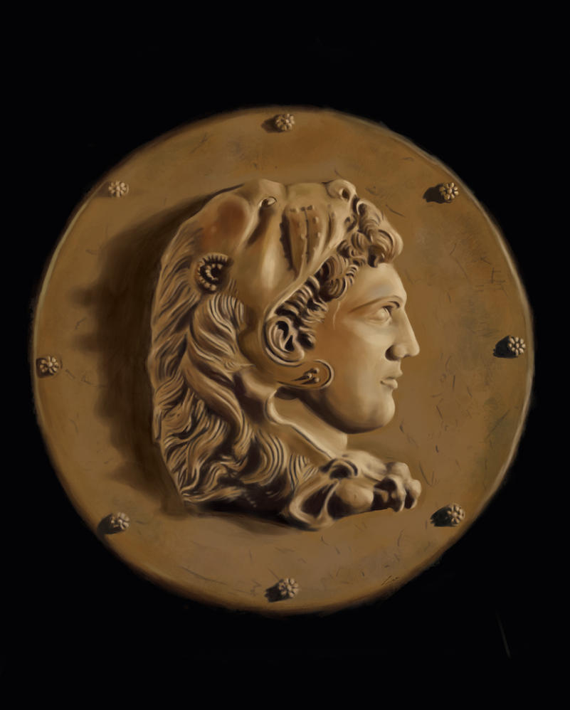 Alexander the Great by BlackRabbitArtisan