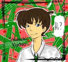 Shin'ichi: Hi by neko-palyn