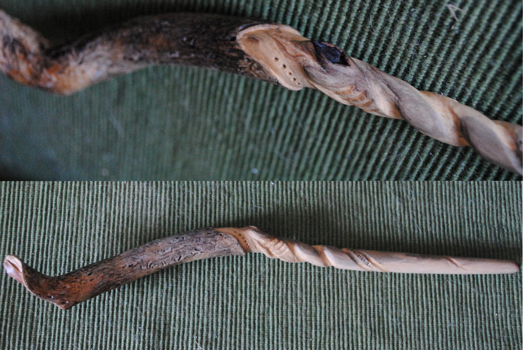 Elm wand by geraldforester on deviantart for Harry potter elm wand