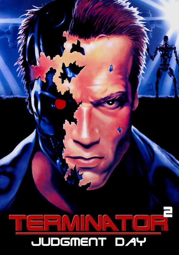 Terminator 2 Judgment Day 1991 By Megaplaymedia On Deviantart