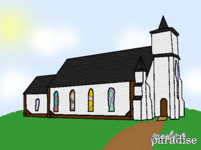 Pop church exterior design by magicalveronica on deviantart for Church exterior design