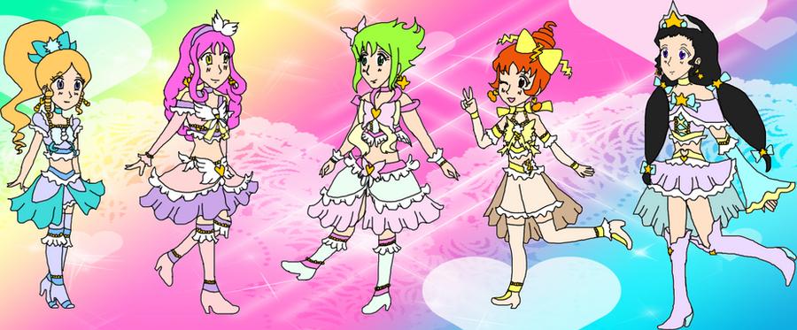 Super Cardinal Pretty Cure By MagicalVeronica On DeviantArt