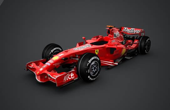 Ferrari F2008b
