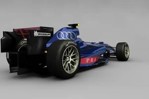Audi F1 Concept rear