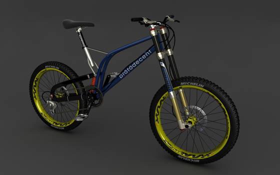 Downhill Mountain Bike WIP