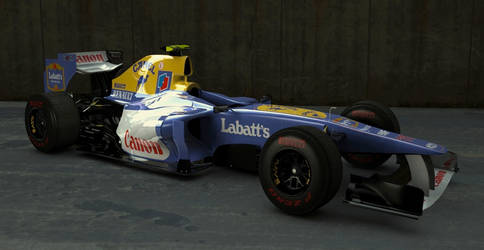 Williams FW33 with a twist