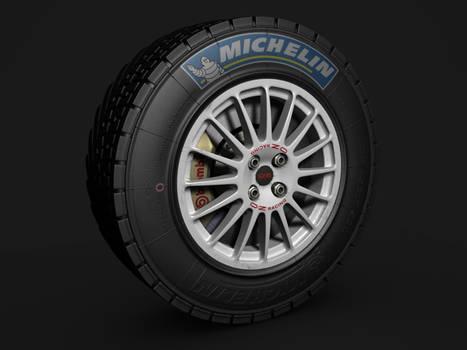 Oz WRC Rim Tire