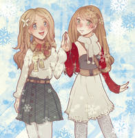 Just like sisters by Temima