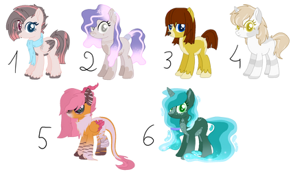 Pony Adopts #2 :open: by castelainmlp
