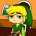 Bored Toon Link 2 by draconar