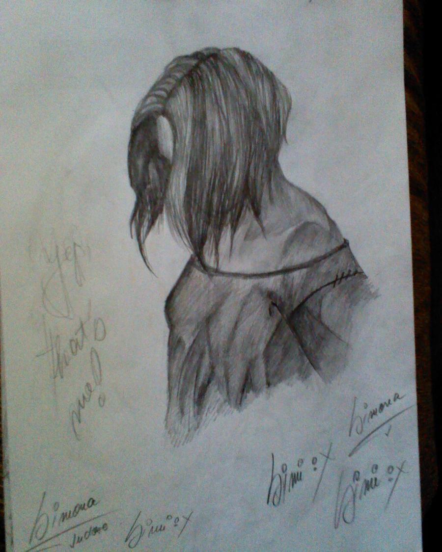 Self Portrait...Shadows by OnlyRetardedS